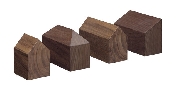 HAUS - Paper weight, walnut